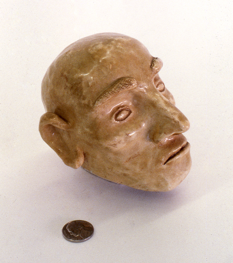 Ceramic Head 1959 or 1960; 4