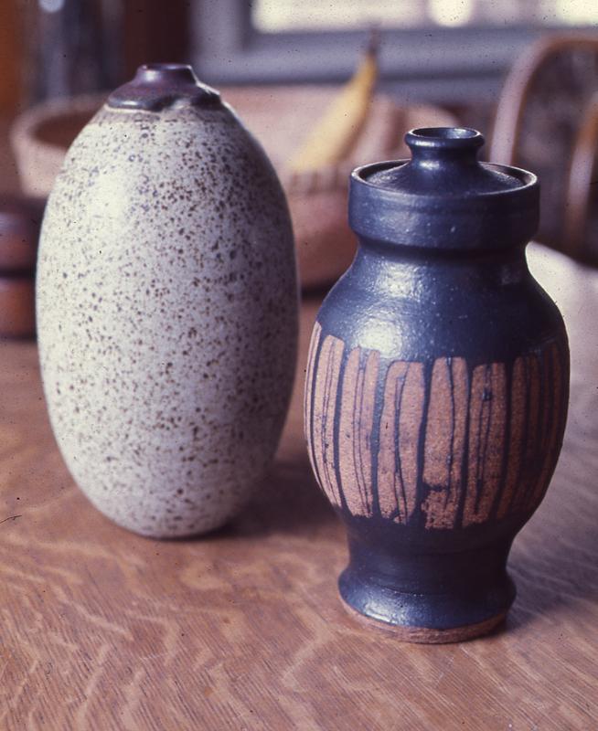 Stoneware Pottery; 1968; 12-14