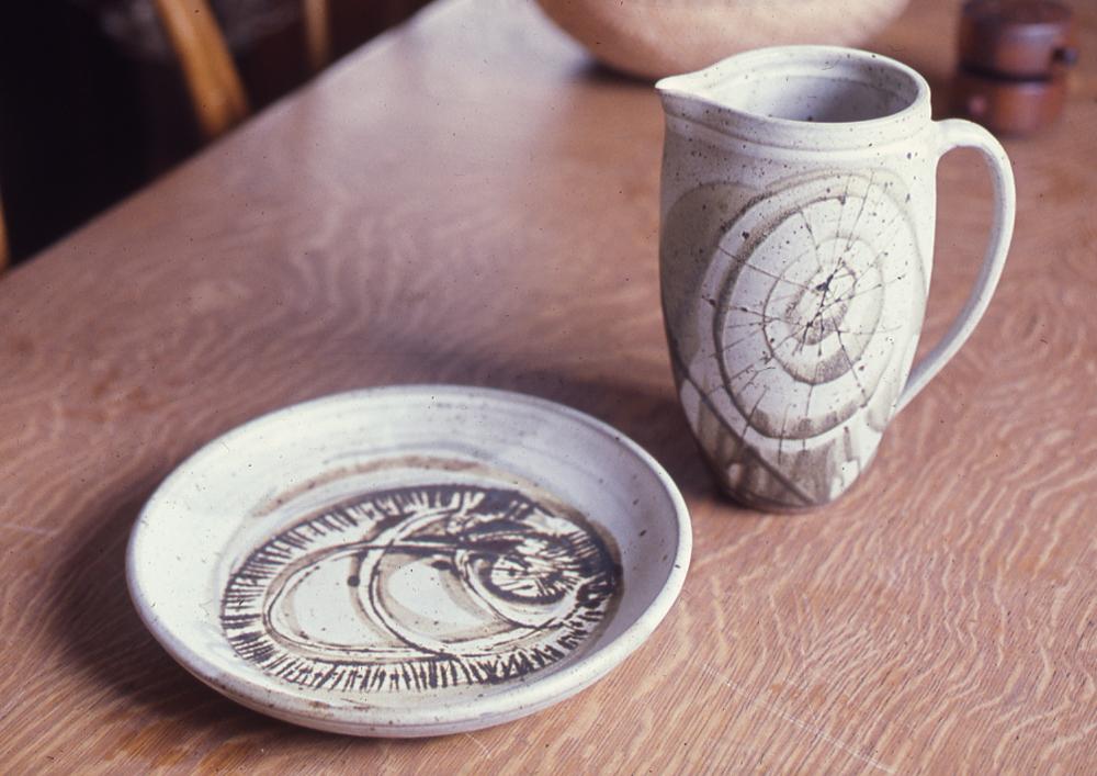 Stoneware Pottery; 1968; 14