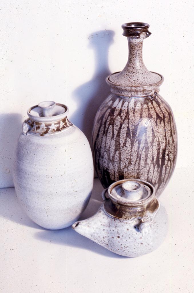 Stoneware Pottery; 1968; 10-22
