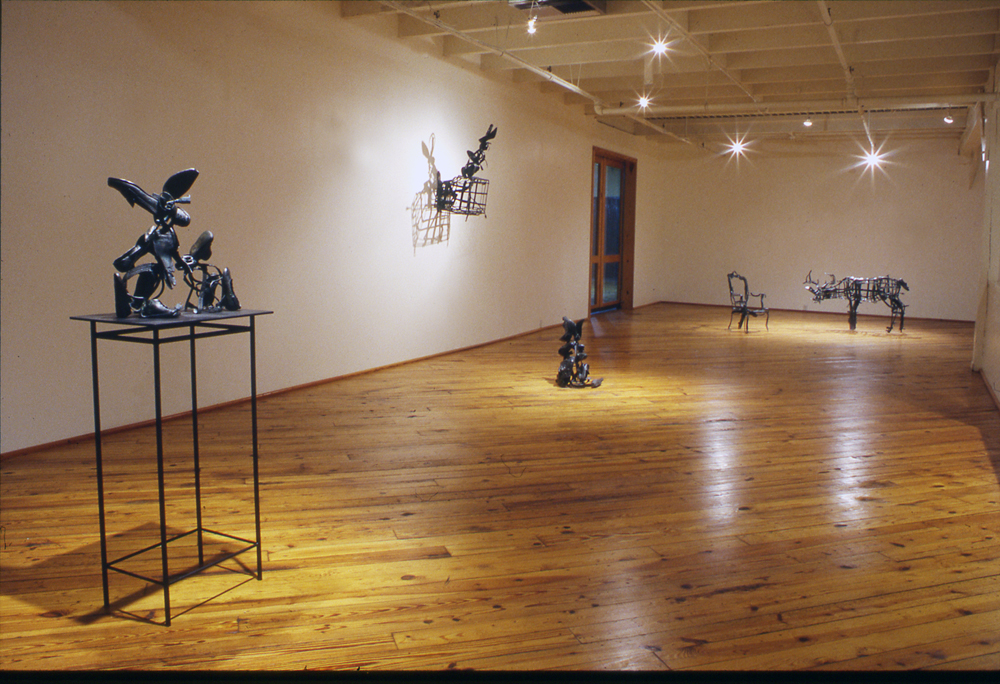 One Man Show, Finesilver Gallery, San Antonio, Texas, 1999