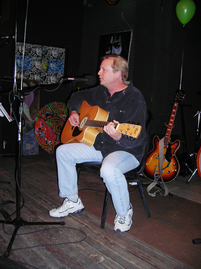 Dennis Coffman at a 2007 Hometown Artist's Rodeo