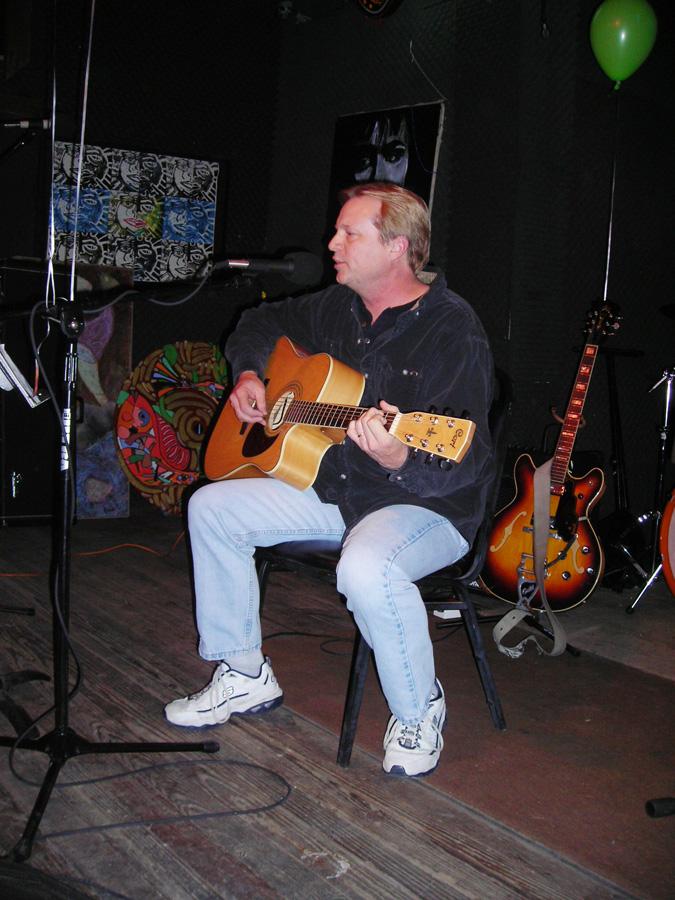 Dennis Coffman at a 2007 Hometown Artist's Rodeo