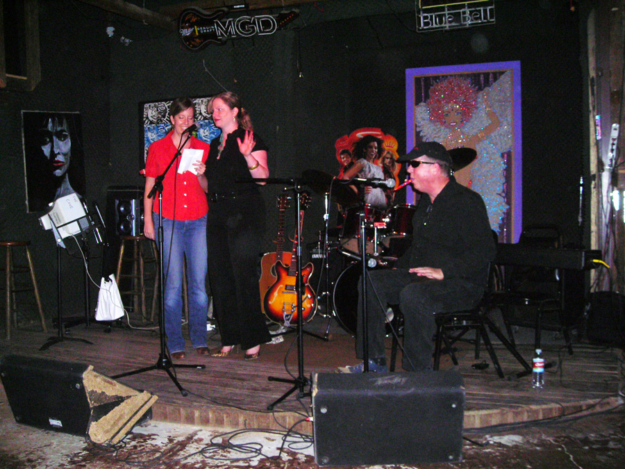 Paul, Joey, and Elizabeth Fauerso, at a 2007 Hometown Artist's Rodeo