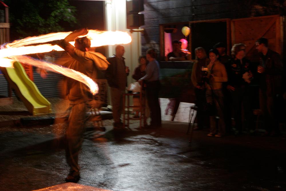 Fire Jugglers 2008 Hometown Artist's Rodeo