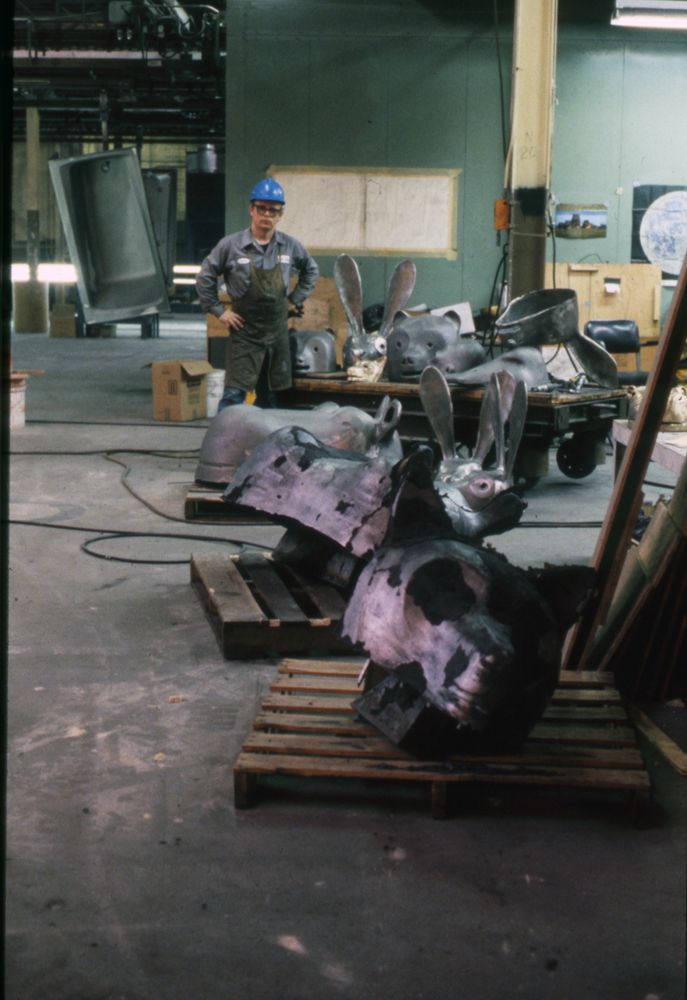 Rough Castings: Wolf, Hippo, JackRabbit, and others, 1988